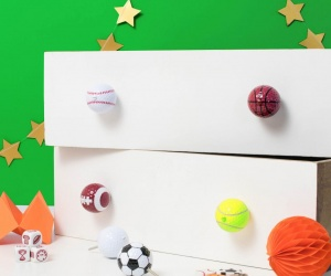 Sports Ball Knobs
