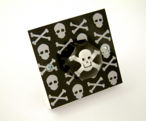 Pirate Decor for Boys Bedroom - Decorative Light Switch or British Made Dimmer Switch