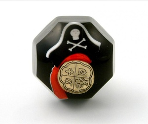 Pirate Themed Boys Bedroom Cupboard Knob