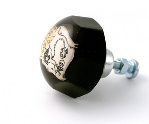 Childrens Bedroom Decor Pirate Treasure Map Drawer Knob