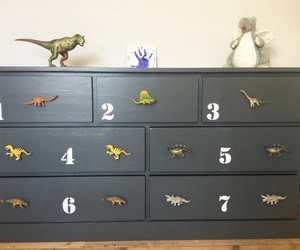 Dinosaur Cupboard and Drawer Knobs by Candy Queen Designs
