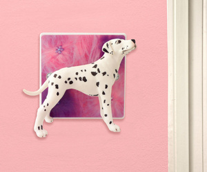 Decorative Light Switch with Dalmation Dog by Candy Queen