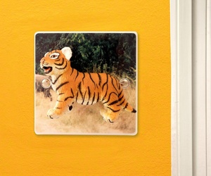 Decorative Light Switch With Safari Tiger by Candy Queen