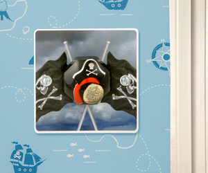 Boys Pirate Themed Bedroom Decorative Light Switch
