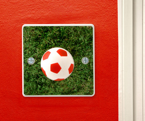 Football Light Switch for Boys Football Themed Bedroom
