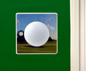 Golf Ball Hole in One Gift Decorative Bedroom Light Switch