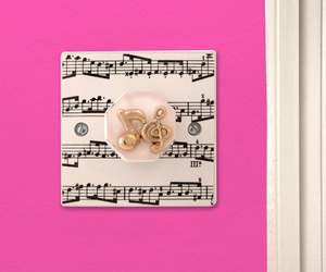 Music Room Gift Decorative Light Switch